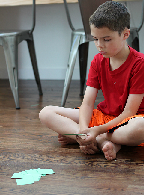 emotions and feelings go fish game