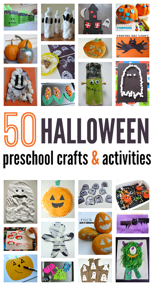 halloween crafts and activities - Preschool Halloween Crafts Ideas