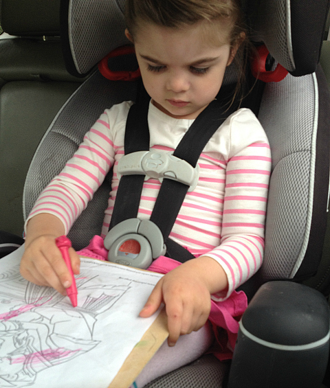 learning in the car for preschoolers