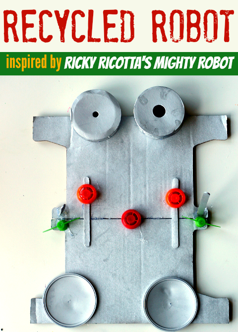 robot craft for kids