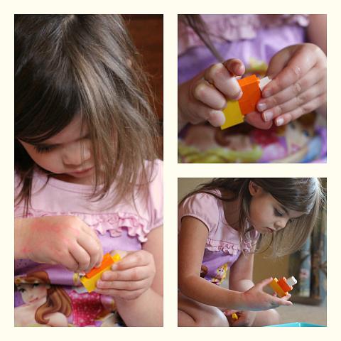 Halloween Lego challenge for girls and boys