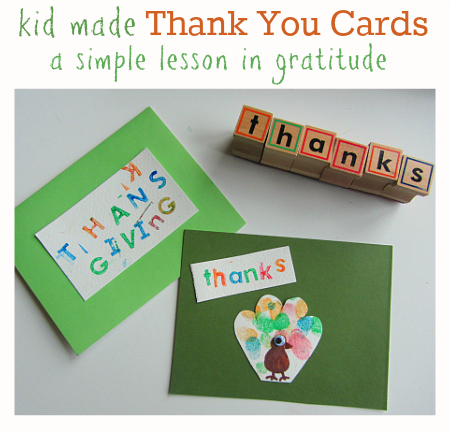 Melissa and doug thank you cards
