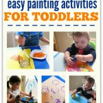 Easy Painting Activities For Toddlers