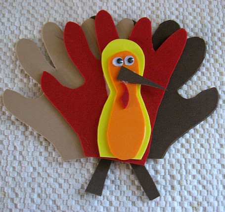 foam turkey magnet edit
