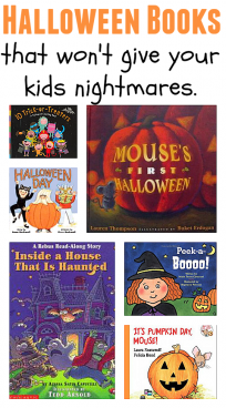 halloween books not scary