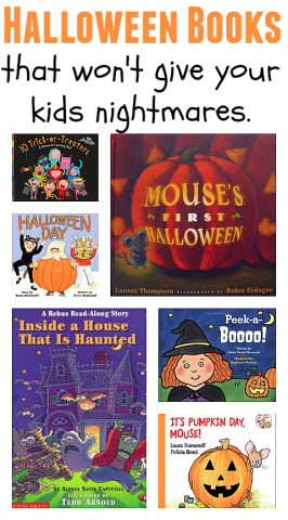 Halloween Books That Won't Give Your Kids Nightmares