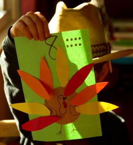 thanksgiving math idea for preschool