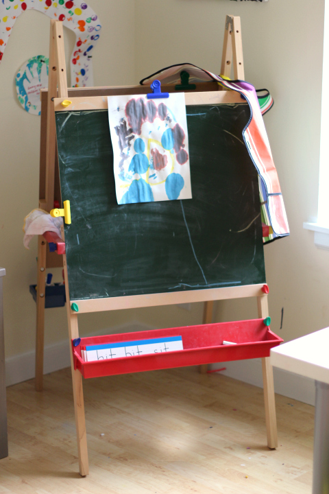 how to set up a playroom for kids