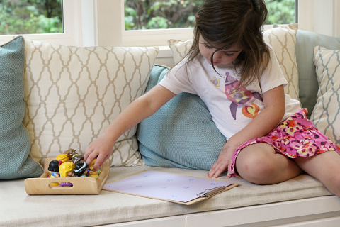 letter sound activity for kids who love princesses