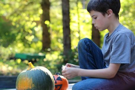 no mess pumpkins
