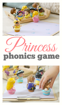 phonics game for kids princess toys