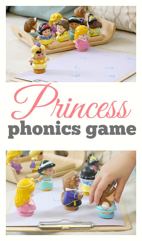 phonics game for kids princess toys