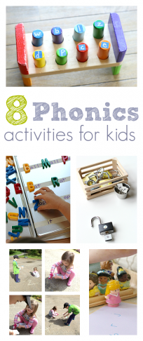 Phonics activities for children