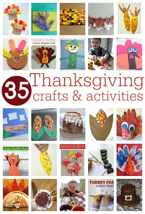 Thanksgiving crafts activities for kids no time for for Thanksgiving activities for toddlers
