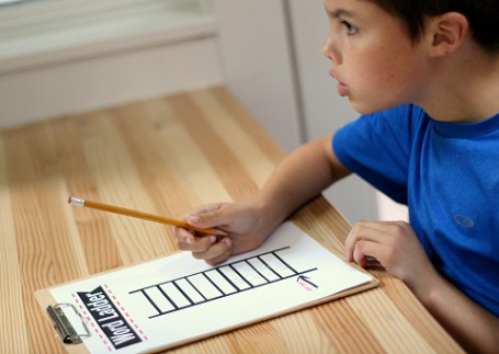 thinking hard word ladder literacy activity for kids