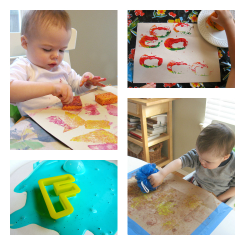 toddler painting activities for daycare