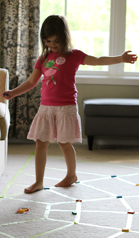 web walking is fun gross motor activity for preschool