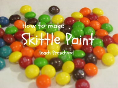skittle paint from teachpreschool.org