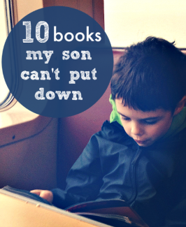 10 Books My Son Can't Put Down