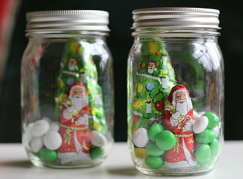 pop the lid on candy jars for christmas