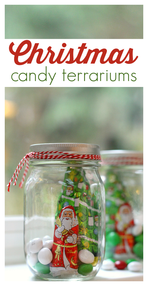 christmas candy jars diy gift
