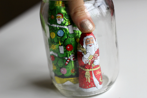 christmas candy mason jars