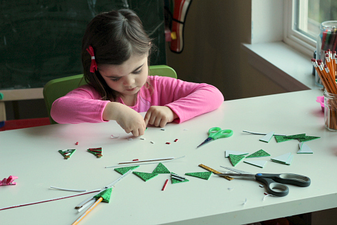 christmas craft pencil toppers for kids