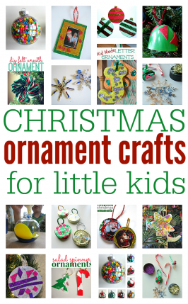 Christmas Ornament Crafts For Little Kids