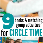 9 books & circle time activities for 2 and 3 year olds { with FREE Printables}