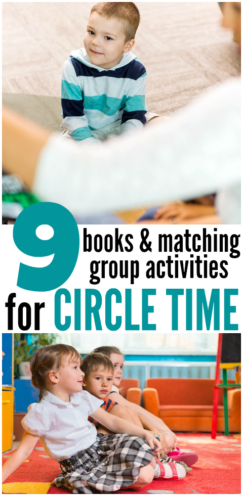 9 books & circle time activities for 2 and 3 year olds { with FREE ...