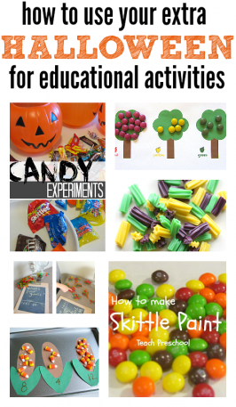 How To Use Halloween Candy For Learning