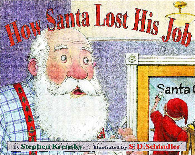 how santa lost his job - Best Christmas Books For Kids