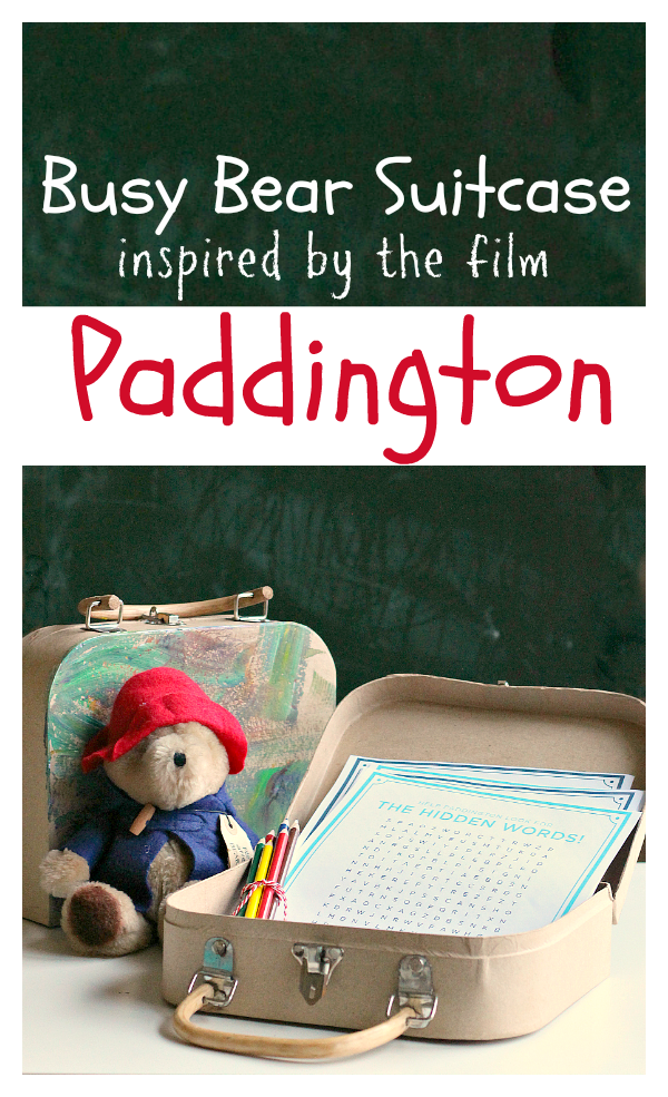 paddington movie activity pack for kids