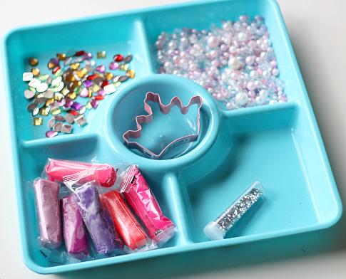 princess playdough invitation to create