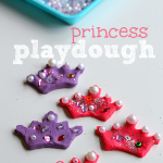 Princess Playdough Activity For Kids
