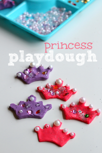 sparkle playdough