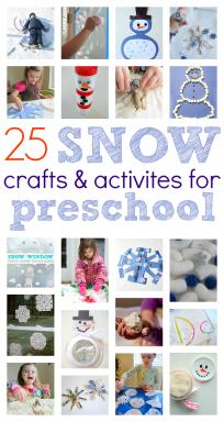 snow crafts and activities for preschool winter ideas for preschool