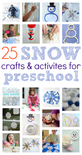 Winter Crafts and Activities For Preschoolers