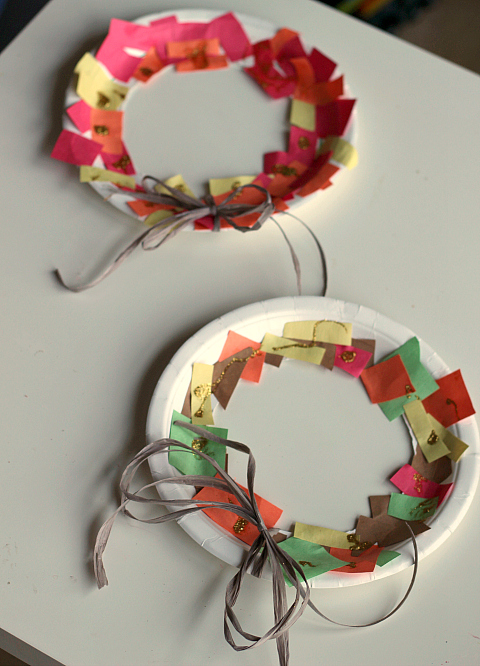 thanksgiving wreath craft