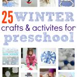 Winter Crafts and Activities For Preschoolers