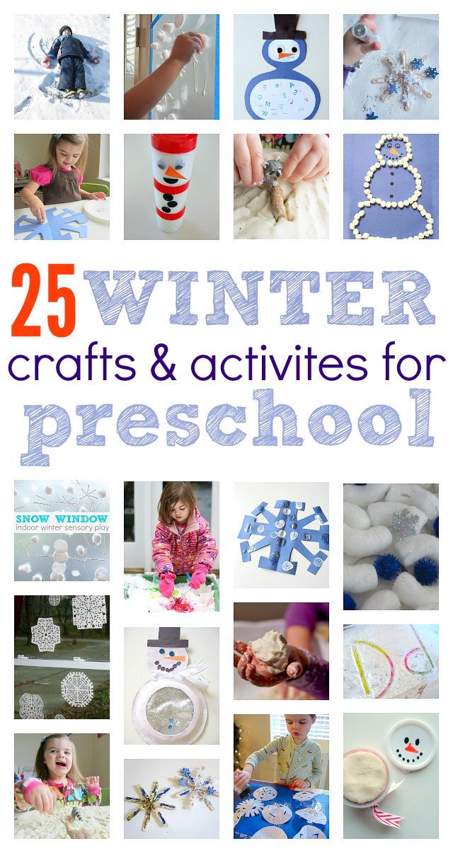 Winter Crafts and Activities For Preschoolers - No Time ...