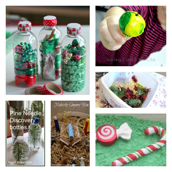 Christmas sesnroy activities for preschool