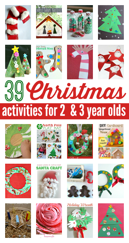 39 Christmas Activities For 2 And 3 Year Olds No Time For Flash Cards