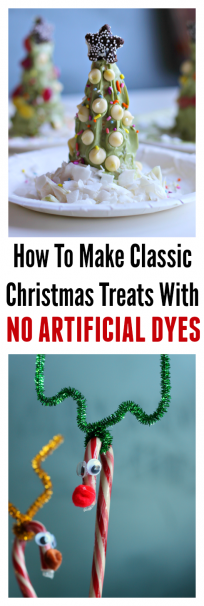 dye free Christmas treats for kids