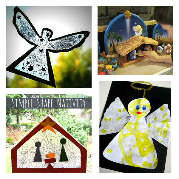 angel crafts for toddlers