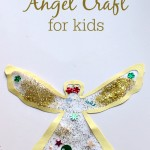 Easy Angel Craft For Preschool