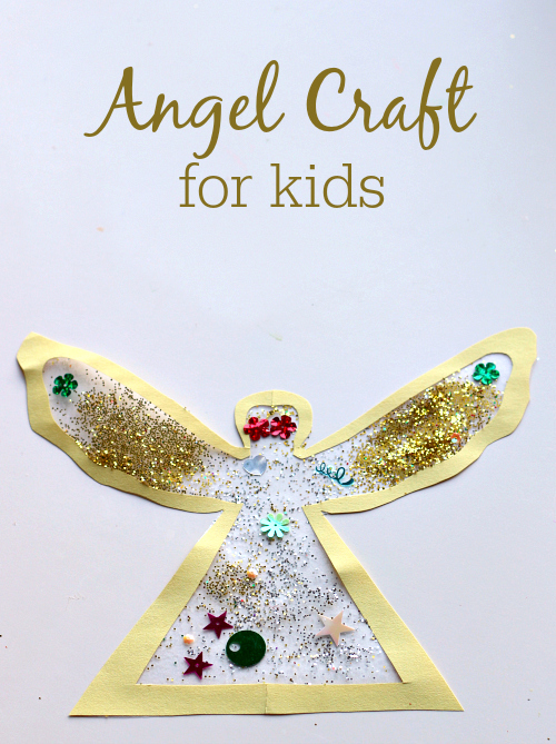 angel craft for kids