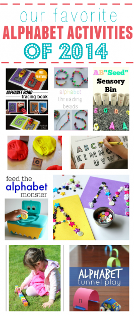 Our Favorite Alphabet Activities of 2014