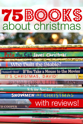 75 Christmas Books For Kids { with reviews }