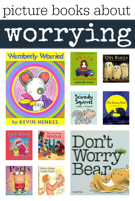 books about worrying
